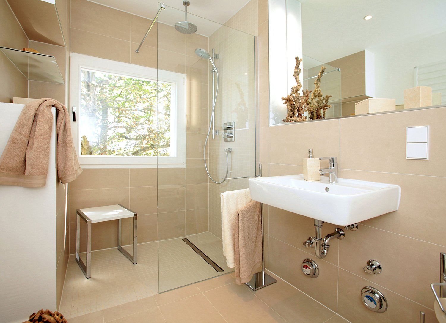 Luxury walk in shower Chelmsford